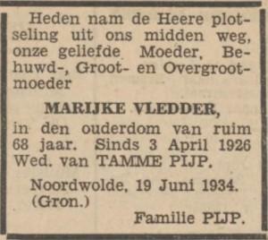 Nieuwsblad van het Noorden, 22 juni 1934