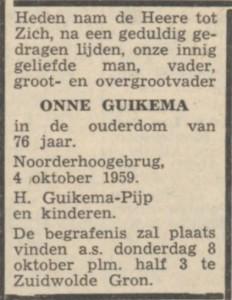 NvhN 6 oktober 1959