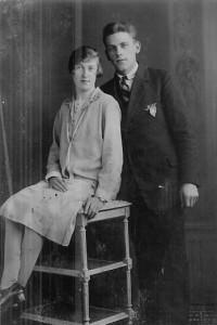 Anje Rus en Piet Jannenga