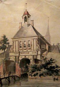 Buiten de A-poort, Groningen, waar Hermannus is geboren