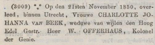Utrechtsche Provinciale en Stads-courant, 27 november 1850