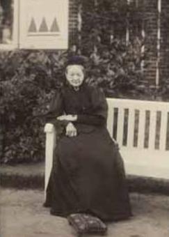 Johanna Edzardina Modderman (1823-1909) (foto van RKD)
