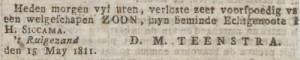 Groninger Courant, 17 mei 1811