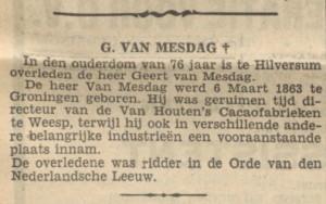 Nieuwsblad van het Noorden, 7 november 1939