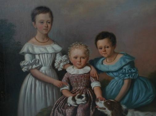Albertina Constantia, Quirina Jacoba Johanna en Jan Hendrik Frans Karel van Swinderen (afbeelding van historiegaasterland.nl)