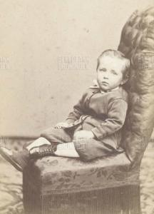 Gerrit van Houten (1866-1934) als kleuter
