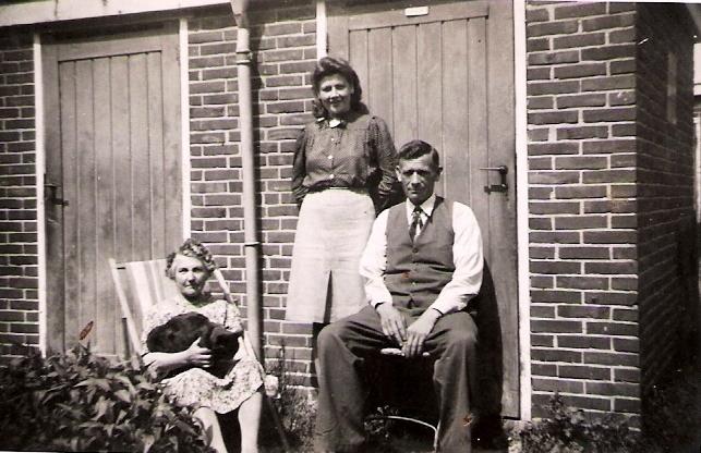 Grietje Rus, Ida Blaauw en Johannes Hinderikus Blaauw