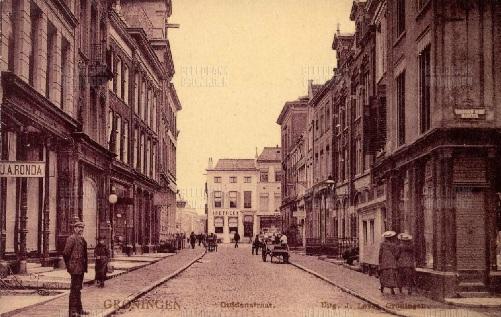 Guldenstraat, Groningen rond 1906