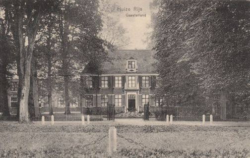 Huis Rijs