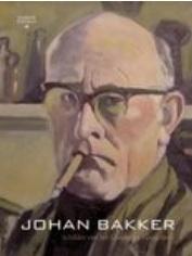 De cover van de monografie over Johan Bakker, getiteld Johan Bakker, schilder van het Groninger Hoogeland.