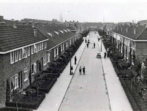 Kamperfoeliestraat, Groningen omstreeks 1920-1930