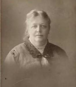 Maria Theresia Jacoba Modderman (1858-1936) in 1914, gefotografeerd bij Blöte, Oosterstraat Groningen (foto van RKD)