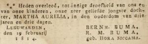 Leeuwarder Courant, 23 februari 1814