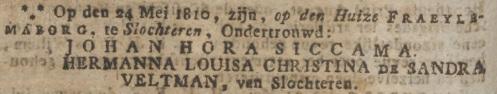 Oprechte Haarlemse Courant, 29 mei 1810