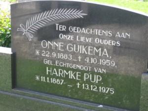Begraafplaats Zuidwolde (foto van Graftombe.nl)