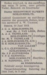 Nieuwsblad v.d. Noorden 11 juni 1913