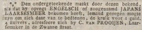 Advertentieblad, bekendmakingen en onderscheidene berigten van Groningen, 27 mei 1814