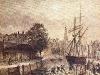 Hoge der A Groningen (aquarel 1861)
